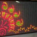 Multicolor Graphics LED Board