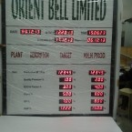 Orient Bell - Production Target Board